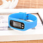 Digital LCD Run Step Watch Bracelet Pedometer Calorie Counter Speed Distance