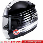 "Arai Chaser V ""Page Silver"" Was £399.99 - Now £289.99 (25% OFF!)"