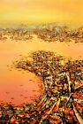 100% Handmade Landscape Oil Painting On Canvas For Living Room Decoration