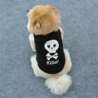 Small Pet Dog Striped Shirt Vest Cat Puppy Summer Clothing T-Shirt Coat Apparel
