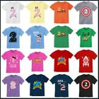 2nd Birthday Gif For Two Year For 2 Years Old Boy / Girl Toddler Kid T-shirt Tee