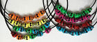 SUGAR SKULL BEAD NECKLACE Mexican Day of the Dead Rockabilly Goth Emo Halloween