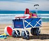 More images of All-Terrain Folding Beach Wagon Outdoor Yard Park Camping Sports Utility Cart