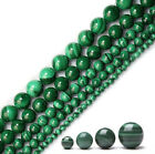 Lots Of Natural Malachite Gemstone Round Spacer Loose Stone Beads 4/6/8/10/12mm