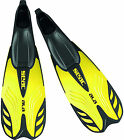 SEAC - Ala Full Foot Snorkel Fins Flippers - Lightweight Performance - Yellow