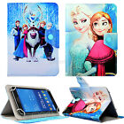 For Universal 7 Inch Tablet Disney Characters Leather Stand Defender Case Cover