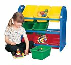 Kids Children's Storage Organiser 6, 9,12 Strong Quality Boxes Trays Toy Storage