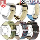 Fabric Wrist Strap Stainless Steel Buckle for Apple Watch Band 42mm 38mm Series3