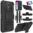 For LG K20 Plus/K20 V/Harmony Shockproof With Kickstand Holster Clip Case Cover