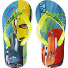 DISNEY CARS 3 McQUEEN & JACKSON Flip Flops w/ Optional Sunglasses Beach Sandals