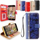 LG Aristo / LG K4 2017 (2017) Leather Wallet Stand Pouch Protective Case Cover