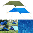 Tarp Shelter Sunshade Awning Canopy Beach Camping Tent Cover Rain Sun Protection