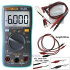 AN8008 9999 Counts Digital Multimeter True-RMS Square Wave Voltage Ammeter DC/AC
