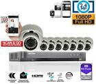 Hikvision HD DVR 1080P 2.4MP CCTV Night Vision Outdoor Home Security System Kit