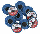 "ABN 2"" and 3"" Zirconia Alumina Flap Sanding Discs, Various Grits, 10 pack"
