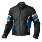 GIUBBINO IN PELLE DI BMW MOTORCYCLE SPORTIVE BIKER RACING GIACCA IN PELLE