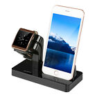 Charging Dock Stand Station Charger Holder For Apple Watch iWatch iPhone 7/6/5