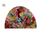 Infant Kids Bowknot Print Flower Toddler Bohemia Cap Printing Baby Beanie Hat*