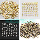 Wholesale DIY Jewelry Findings Lobster Claw Clasps Hooks Gold Silver Antibrass