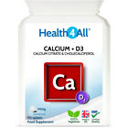 Health4All Calcium Citrate 315mg & D3 200iu Tablets | HEALTHY BONES AND TEETH £4.99 GBP on eBay