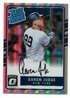 AARON JUDGE 2017 MLB Panini Donruss OPTIC RC AUTO #111/150  REFRACTOR AUTOGRAPH