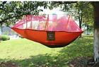 2 Person Parachute Hammock Double Wide Solid Outdoor Patio Yard Camping
