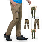 Men's Tactical Quick Dry Outdoo Pants Fishing Hiking Camping Stretch Trousers