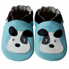 Free shipping Newborn Prewalker Soft Sole Leather Baby Shoes Puppy Blue 0-5years