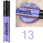 16 Colors Metallic Metal Lipstick Lip Gloss Liquid Matte Makeup Cosmetic