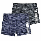 Tommy Hilfiger Womens Shorts Active Stretch Sport Compression Mid Rise Gym New