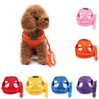 Outdoor Pet Dog Harness Vest No-Pull Breathable Nylon Leash Chest Belt 1m/1.5m