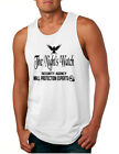 NEW Men's Tank Top The Night Watch Security Agency Gift Cool Top