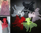 """1PCS Large Embroidered Red/Pink Gauze Goldfish Sewing Appliques 23""""X19"""" WT132"""