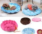 Pet Dog Warm Bed Kennel Mat Soft House Plush Cozy Nest Puppy Pad House