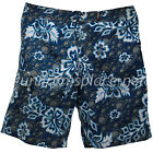 Mens Beach Shorts Utopia/Verona Polyester Floral Cargo Pocket Board, Surf Shorts