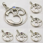 925 Sterling Silver OM OHM Pendant ! Made In India Affordable Wedding Jewelry