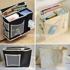 Sofa Chair Arm Rest Bedside Hanging Caddy Pockets Storage Bed Organizer Holder