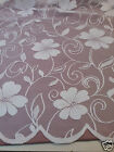 """Net Curtain Sophie White. Now Only 36"""" & 40"""" Drops Left. ONLY £1.00 PER METRE"""