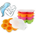 Cute Weaning Baby Food Silicone Freezer Tray Storage Container BPA Free Dazzling