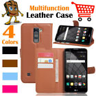 Leather Wallet Stand Folio Flip LSP Case For LG Stylo 2 Plus / MS550 K550 K535