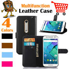 Leather Wallet Stand  Folio LSP Case Cover Skin For Moto Motorola X Pure Edition