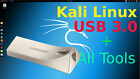 Kali Linux live w/ persistence +ALL tools in a Samsung USB 3.0 metal flash drive