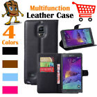 Leather Wallet Stand Folio LSP Case Cover For Samsung Galaxy Note Edge / N9150