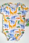 ERIC_CARLE_To_The_Zoo_Baby_Boy_3M_Short_Sleeve_BODYSUIT_Bamboo_Viscose - NWT