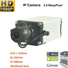 HD 2.0 MP 1080P Zoom LENS ONVIF BOX IP Network Security Camera CCTV P2P Outdoor