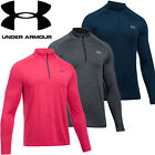 Under Armour Mens Golf 1/4 Zip PlayOff Long Sleeved Sweater Pullover Top