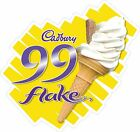 99 Flake Sticker, Cadbury, Ice Cream Van, Shop, Cafe, Restaurant, Catering