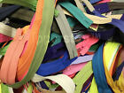 Zippers Bulk 3 Inch to 24 Inch mostly of YKK Nylon Coil mixed Talon Zippers
