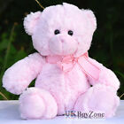 "11"" Mini Plush Super Soft Teddy Bear Cuddly Toy Baby Girl Boy Gift with Ribbon"