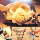Pet Cat Dog Kitten Chewing Interactive Kitten Toys Cats Stuffed Fish Mint Pet